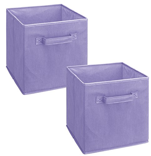 Cheap  ClosetMaid 3878 Cubeicals Fabric Drawer, Light Purple, 2-Pack