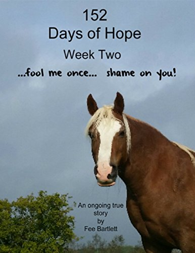 152 Days of Hope: Week Two - Fool Me Once, Shame On You...