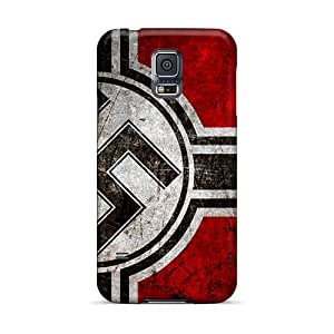 MansourMurray Samsung Galaxy S5 Perfect Cell-phone Hard Covers Allow Personal Design High-definition Metallica Series [vrx16317ODGp]