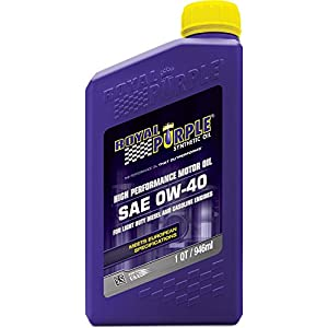 Royal Purple Motor Oil 11484 SAE 0W-40