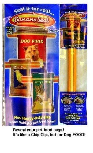 Banana Seal Pet Food Bag Sealer, Medium, 14 1/2 by Seal-A-Ba