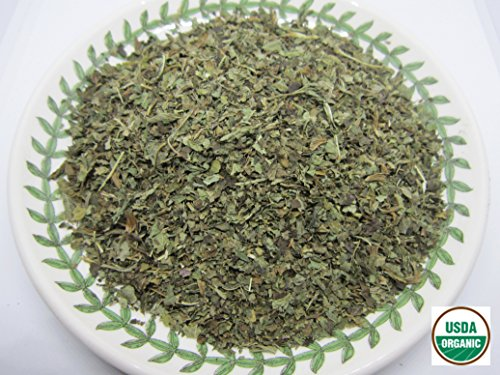 Organic Lemon Balm - Melissa officinalis Dried Loose Leaf by Nature Tea (2 oz)