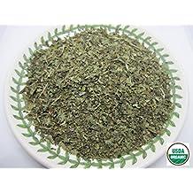 Organic Lemon Balm - Melissa officinalis Dried Loose Leaf by Nature Tea (2 oz)