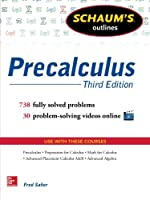Schaum's Outline of Precalculus, 3rd Edition Front Cover