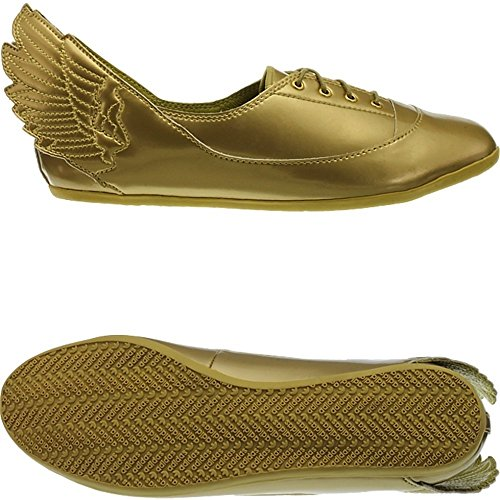 Adidas JS Wings Easy Five Gold MI - D65208 - Color Golden - Size: 6.5 (Adidas Js Wings)