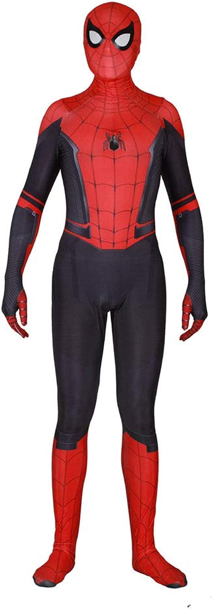 2019 Far from Home Spiderman Cosplay Mono Medias Jugando Disfraz ...