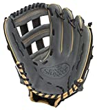 Baseball Louisville Slugger FG25GY5 125 Series Gray Fielding Glove, 12.5-Inch, Right Hand Throw