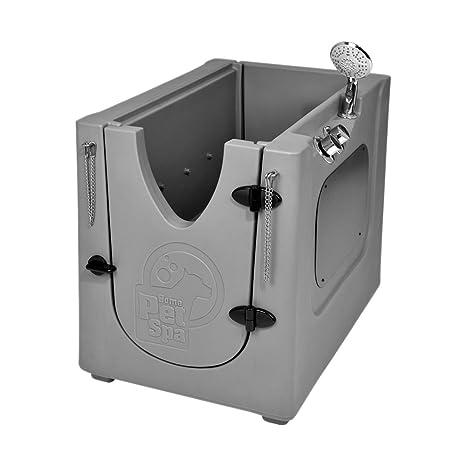 Amazon.com: Mascota lavar de almacenaje con estante ...