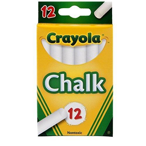 Crayola White Chalk 12 Ea (Pack of 36)