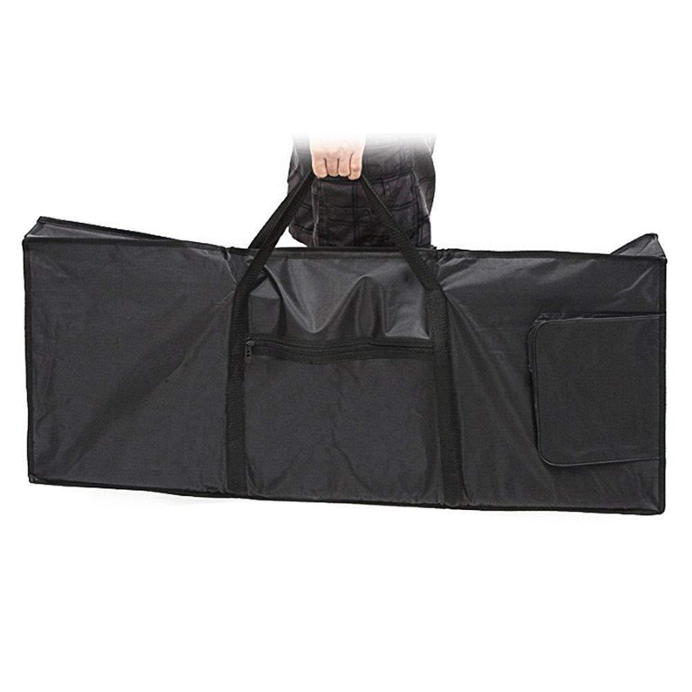 61tasti tastiera borsa, Gfeu custodia imbottita per tastiera elettronica con extra tasche e tracolle