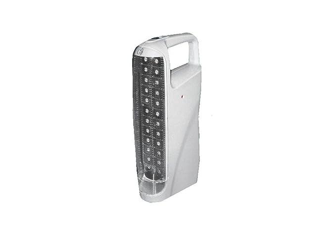 Dettagli su lanterna di emergenza led portatile ricaricabile