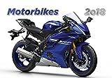 Motorcyle Calendar 2018 - Motorcycle Calendar - Photo Calendar - Moto GP Calendar - Motorbikes Calendar by Helma