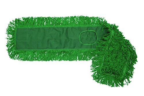 O'Cedar Commercial 96949 MaxiDust Loop-End Mop, 48'', Green (Pack of 12) by O-Cedar Commercial