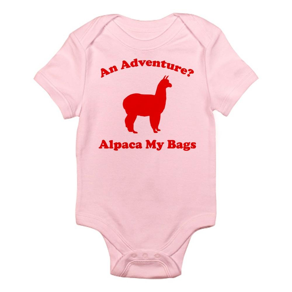 CafePress an Adventure? Alpaca My Bags Infant Bodysuit - Cute Infant Bodysuit Baby Romper by CafePress