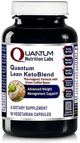 Quantum Lean Advantage KetoBlend 240 Vcaps 4 Bottles, Green Coffee Bean Extract by Quantum Nutrition Labs (Image #1)