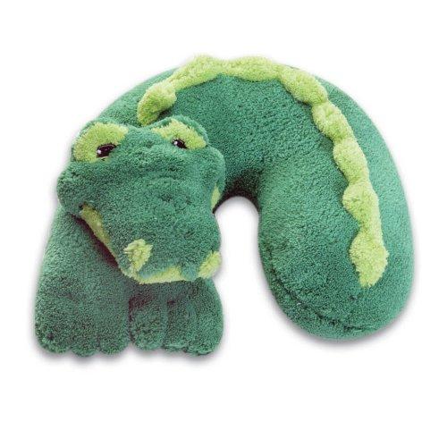 Childs Travel Support Neck Rest Pillow Alligator