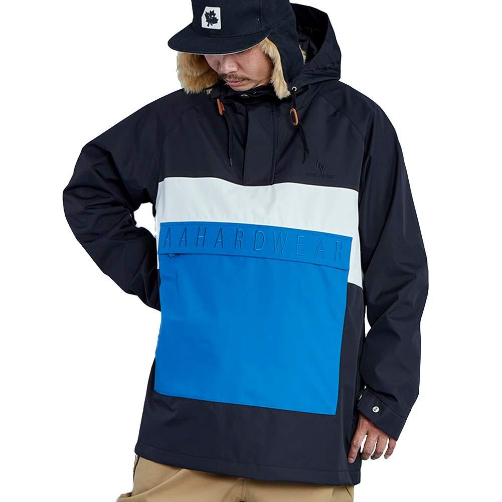 AA HARDWEAR(ダブルエー ハードウェア) メンズ ジャケット スノーボードウェア SHELL JACKET ジャケット アノラック スノボ スノーボード aa-shell-jacket 黒 Medium