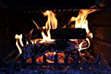 Home Comforts LAMINATED POSTER Flames Fireplace Burning Poster