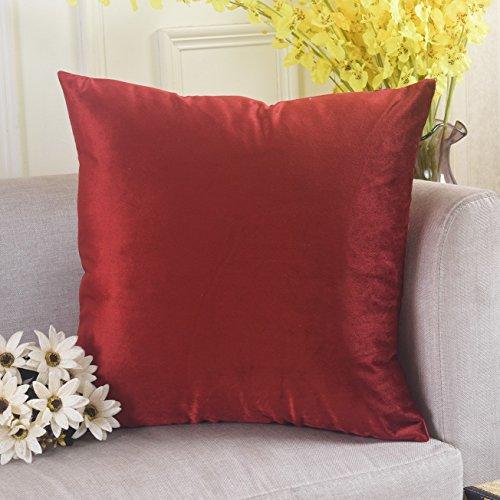 Velvet European Pillow Hidden 66x66cm