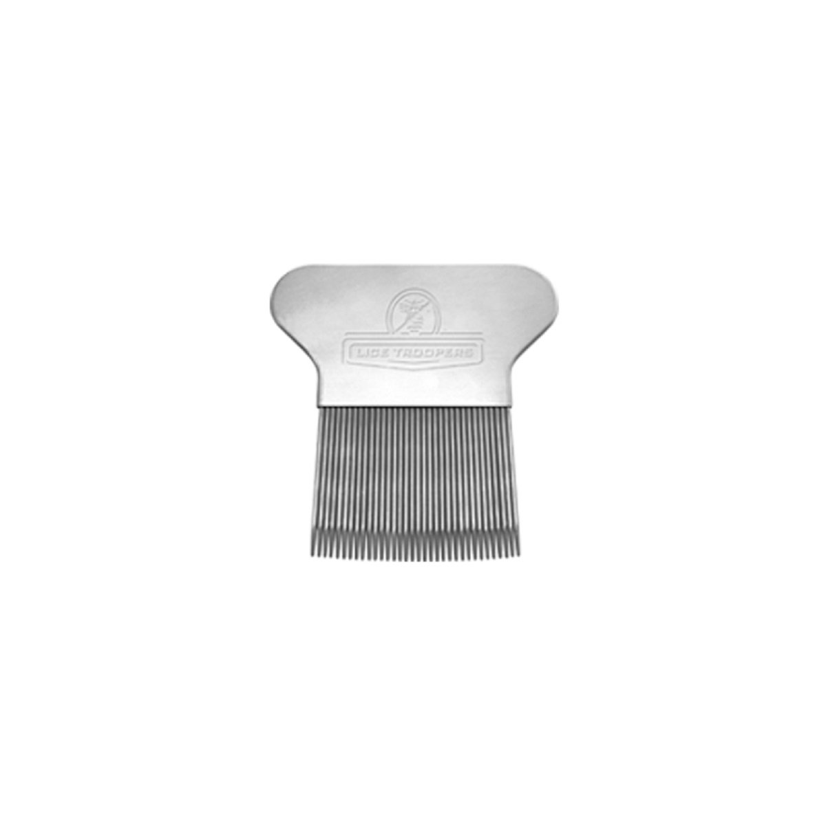 Lice Troopers Strong and Durable Lice Extraction Comb - Made of Stainless Steel, Hand Fit, Effortless Combing