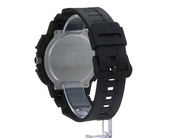 Casio Men's Retrograde Quartz Watch with Resin Strap, Black, 20 (Model: MCW-200H-9AVCF)