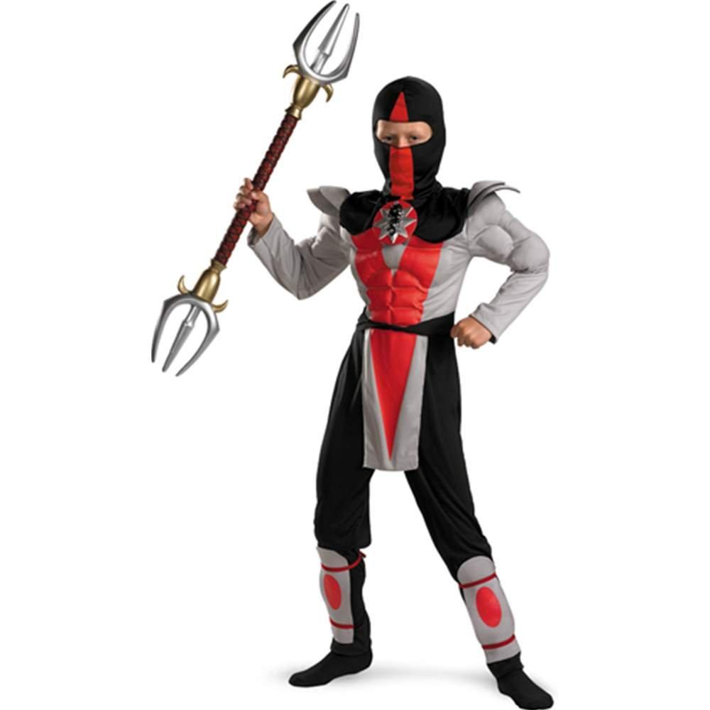 Amazon.com: Shadow Ninja Bounty Hunter Muscle Child Costume ...