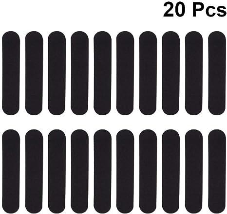 EXCEART 20 Pcs Hat Size Reducer Sweatband Foam Reducing Tape Hats Tape Caps Sweatband for Hats Caps Cowboy Hats