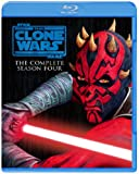 Anime - Star Wars: The Clone Wars S4 Complete Set (3BDS) [Japan BD] 10004-37124