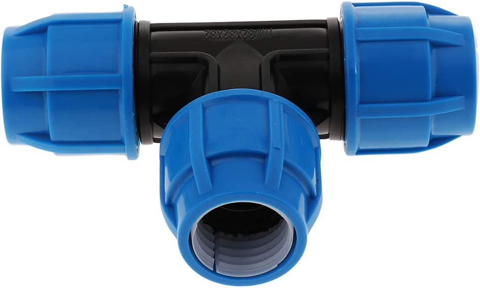 20mm joyMerit Kit De Ajuste A Presi/ón Desbloqueo R/ápido Presione para Conectar El Accesorio De Uni/ón del Tubo En T