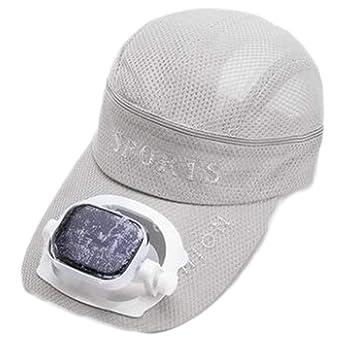 Verano Ventilador solar Sombrero de Béisbol de enfriamiento Carga ...