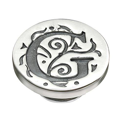 Silver Alphabet JewelPop - G - Kameleon Sunglasses