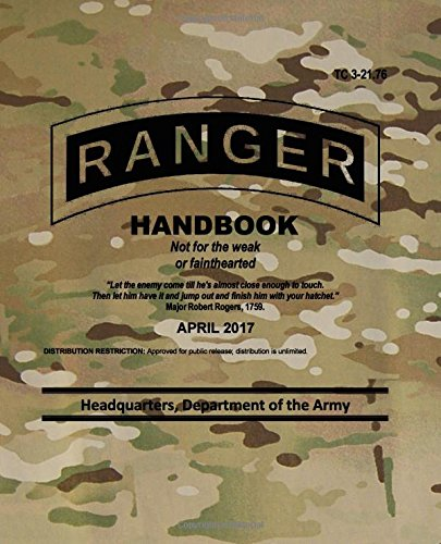 TC 3-21.76 Ranger Handbook: April 2017 ebook