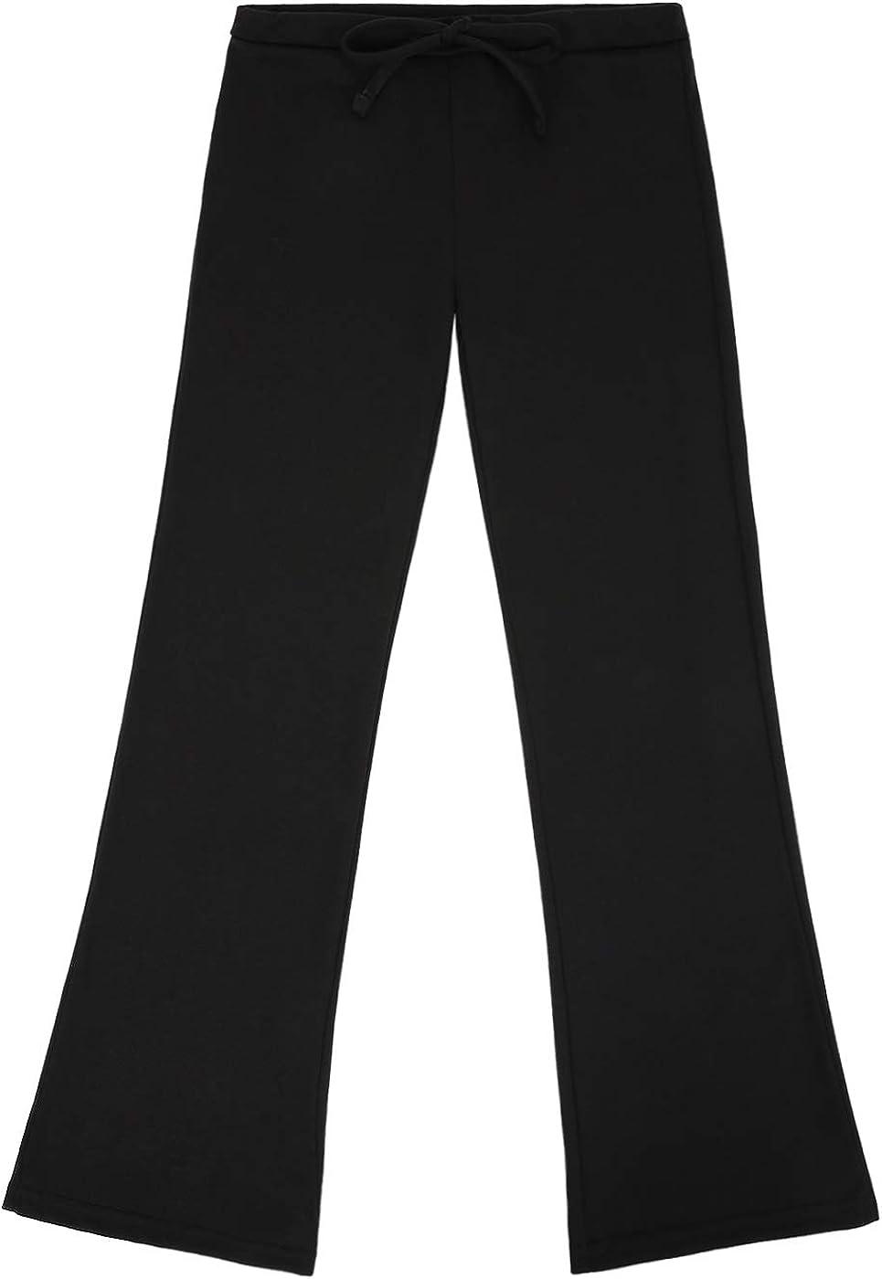 HDE Girls Pajama Pants Soft Sleepwear Casual Loose Lounge Bottoms