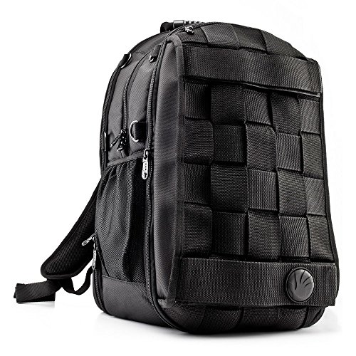 SLAPPA MASK Jedi Checkpoint Friendly 17 inch Gaming and Travel Backpack, tons of storage, Ultimate Protection by Slappa