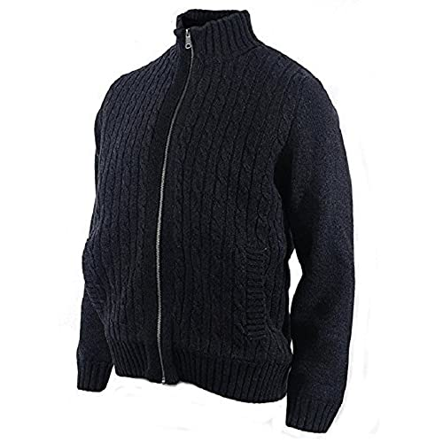 Navy Blue Cable Knit Sweater Amazon