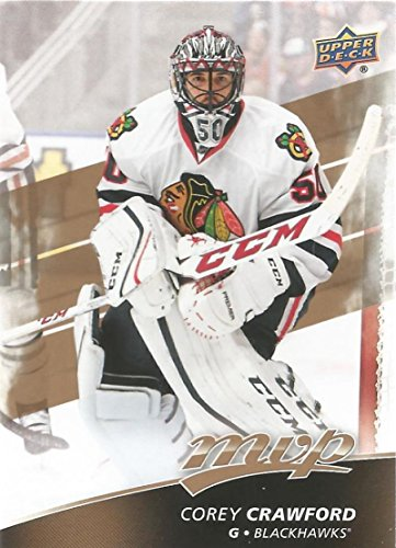 2017-18 Upper Deck MVP #40 Corey Crawford Chicago Blackhawks