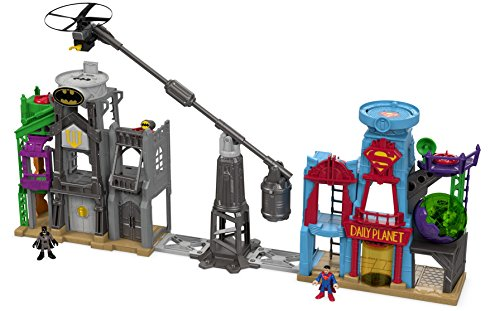 Fisher-Price Imaginext DC Super Friends Super Hero Flight City