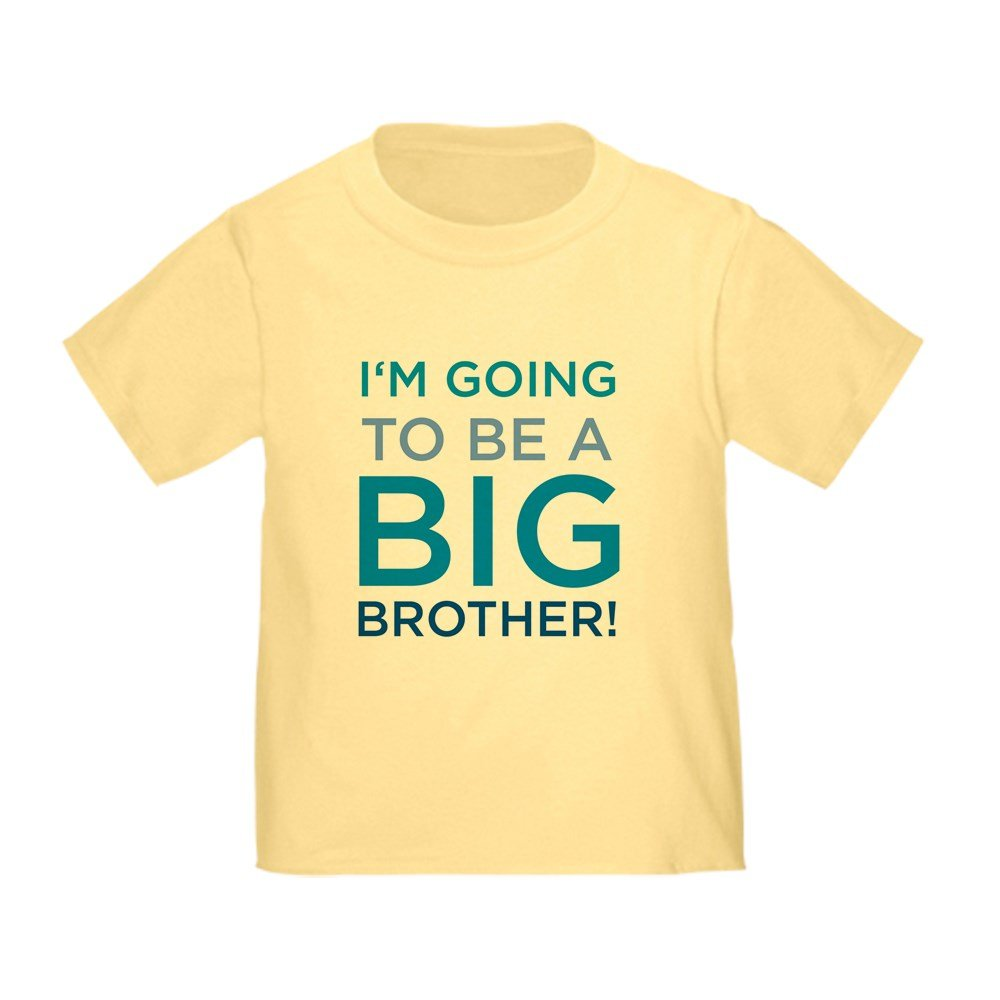 CafePress - I'm Going To Be A Big Brother Kids T-Shirt T-Shirt - Cute Toddler T-Shirt, 100% Cotton