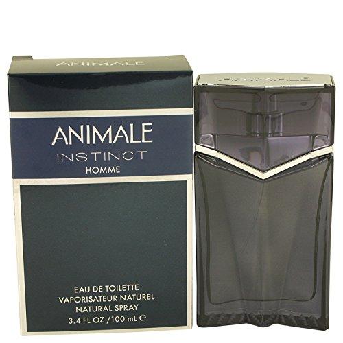 (Anímale Instìnct Colognė For Men 3.4 oz Eau De Toilette Spray + Free Shower Gel )
