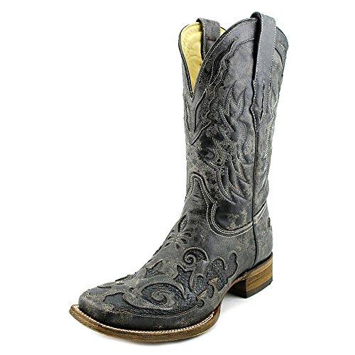 Corral Mens Python Inlägg Western Boot - C2159 Svart