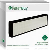 FilterBuy GermGuardian Filter C, Part # FLT5000 & FLT5111, Compatible HEPA Air Purifier Filter. Designed by FilterBuy to fit GermGuardian AC5000 Series Air Cleaning System.