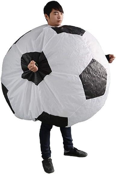 Amazon.com: YOWESHOP - Disfraz hinchable de pelota de fútbol ...