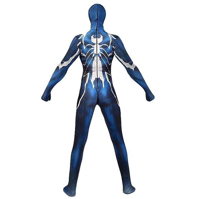 AEMUT Traje Marvel Spiderman Venom Cosplay Traje del Super héroe ...