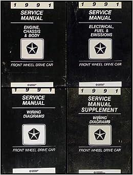 1991 FWD Repair Shop Manual Set Chrysler LeBaron New Yorker Imperial  Chrysler New Yorker Diagram Wiring Schematic on 91 chrysler pt cruiser, 91 chrysler lebaron gtc, 91 chrysler voyager, 91 chrysler lebaron convertible, 91 chrysler laser, 1991 new yorker, 91 chrysler concorde, 91 chrysler sebring,