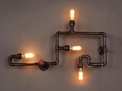 Parete Dacqua In Casa : Lampade da parete loft retro lampada da parete ristorante