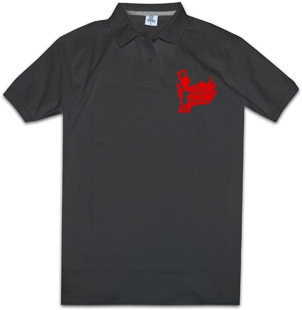 MZONE Men's Famous Detective Manga Movie Fashion Polo Tshirt