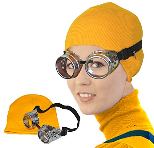 [Minion Costume Minion Hat Minion Goggles and Hat Minion Costumes Minions Costume] (Costume Minions)