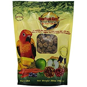 Oven Fresh Bites Natural Baked Avian Diet, Nutritional, Whole Grain, Medium Parrot, 28 Oz. Bag 99