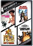 4 Film Favorites: Urban Action (Black Belt Jones, Black Samson, Hot Potato, Three the Hard Way)