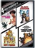 4 Film Favorites: Urban Action Collection (Black Belt Jones / Black Samson / Hot Potato / Three the Hard Way)